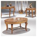 Jasmine 3 Piece Coffee Table Set