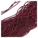SILK FABRIC STRING 2MM GARNET RED 42 INCH STRAND (