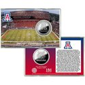 Arizona Wildcats Stadium Silver Coin Card