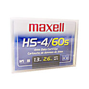 Maxell DDS-3 Tape 12/24 GB ,Part # 200025 New & F