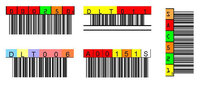 DLT Barcode Labels