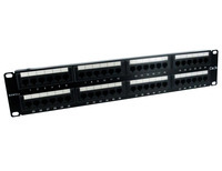 Sewell 48 Port Cat5e Patch Panel
