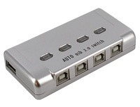 Premium 4-Port (4x1) Automatic USB2.0 Switch