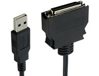 USB to Mini-Centronics Cable 5 ft