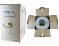 SolidRun by Sewell Cat5e Bulk Cable 1000 ft. UTP
