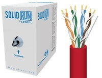 SolidRun by Sewell Cat6 Bulk Cable UTP 1000 ft. R