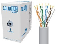 SolidRun by Sewell Cat5e Bulk Cable 500 ft. UTP C