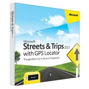 Streets &amp; Trips 2013 GPS