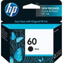 HP 60 Black Inkjet Print Cartridge #CC640WN (Yield