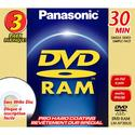 8cm DVD-RAM Disc with Pro Hard Coating for DVD Cam