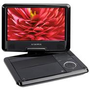 DS9341 9&amp;quot; Swivel Screen Portable DVD Player, 