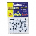 EYES,WIGGLE,10MM,50PK,BK
