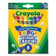 CRAYON,WSHBL,LARGE,8 COUNT