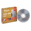 DISC,DVD+RW,4.7GB,5/PK