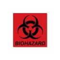 DECAL,BIOHAZARD,6X6,FRD