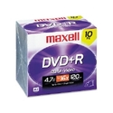 DISC,DVD+R,16X,10/PK