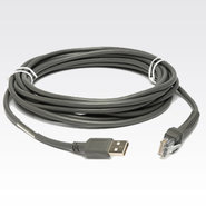 15 FT, USB CABLE, SERIES A CONNECTOR, STRAIGHT
