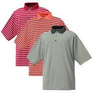 Stretch Pique Stripe Shirt