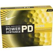 Power Distance Long Yellow Golf Balls