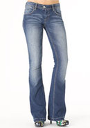 Paris Blues Thick-Stitch Bootcut Jean