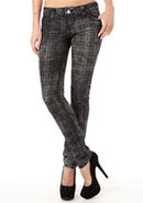 Almost Famous Plaid Jean