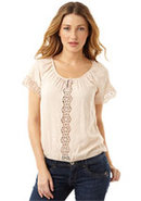 Isla Peasant Top