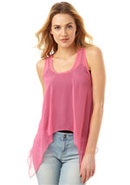 Brandy Chiffon Tank