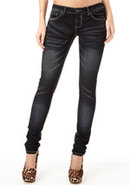 Royal Blue Dark Ultra-Skinny Jean