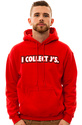 Men&#39;s The I Collect Js Hoodie in Red, Sweatshirts