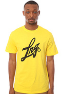 Men's The Home Field S/S Tee in Yellow, T-shirts