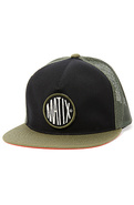 Men's The Roadies Trucker Hat in Olive, Hats