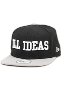 Men's The Dunce Snapback in Black & Gray, Hats