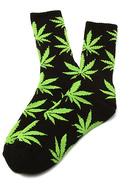 Men's The Plantlife Socks in Black, Socks