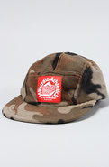 Men's The Milkcrate Camp Hat in Camo Fleece, Hats