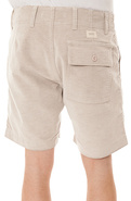Men's The Ty Again Cord Shorts in Grey, Shorts