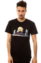 Men&#39;s The Still Life Tee in Black, T-shirts
