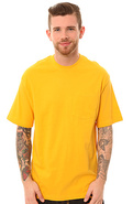 Men's The Basic Short Sleeve Pocket Tee in Citrus,