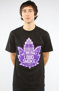 Men's The Smoke Weed Tee in Black, T-shirts
