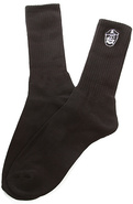 Men's The Avast Socks in Black, Socks