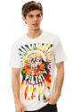 Men's The Zombie Regular Tee in White, T-shirts