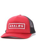 Men's The Headline Trucker Hat in Blood Red, Hats