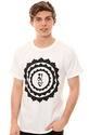 Men&#39;s The Inner Sanctum Tee in White, T-shirts