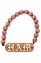 Men's The H.A.M Bracelet in Natural, Jewelry