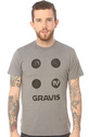 Men&#39;s The IV 4 Dot Tee in Dark Athletic Heather, T