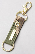 Men&#39;s The Indiana Key Chain in Burnt Olive, Access