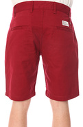 Men's The Nile Shorts in Maroon, Shorts