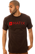 Men's The Monolin Tee in Brown, T-shirts