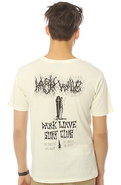 Men&#39;s The Dark Wave Surf Club Tee in White, T-shir
