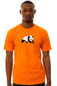 Men&#39;s The Original Panda Tee in Orange, T-shirts
