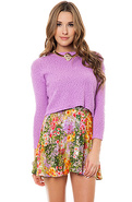 Women's The Paint By Numbers Waisted Skirt, Skirts